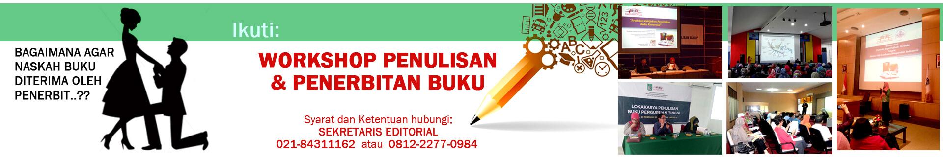 Workshop Menerbitkan dan Menulis Buku