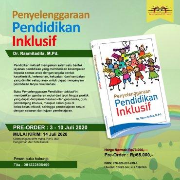 Pre-Order Buku Penyelenggaraan Pendidikan Inklusif